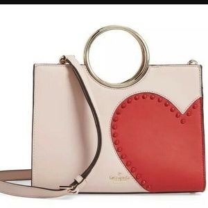 Kate spade heart it sam satchel